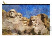Mount Rushmore Monument Photo Art Carry-all Pouch