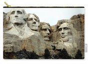 Mount Rushmore Presidents Carry-all Pouch