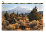 Mount Shasta In The Fall  Carry-all Pouch by Gary Whitton