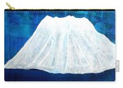 Mount Shasta Original Painting Carry-all Pouch