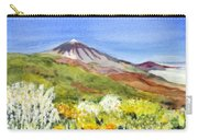 Mount Tiede In Tenerife Carry-all Pouch