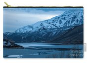 Mount Timpanogos Winter Evening Carry-all Pouch