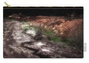 Mount Trashmore - Series Iv - Painted Photograph Carry-all Pouch
