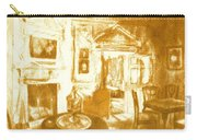 Mount Vernon In Golden Light Carry-all Pouch