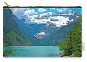 Mount Victoria Rises Above Lake Louise In Banff Np-alberta Carry-all Pouch