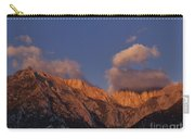 Mount Whitney In Clouds Alabama Hills Eastern Sierras California  Carry-all Pouch