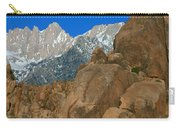Mount Whitney, Lone Pine, California Carry-all Pouch