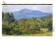 Mountain And Valley Near Brevard Carry-all Pouch