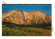 Mountain Autumn Sunrise Carry-all Pouch