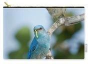 Mountain Bluebird Pair Carry-all Pouch