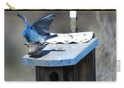 Mountain Bluebirds Mating Carry-all Pouch
