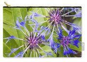 Mountain Bluet Flowers Carry-all Pouch
