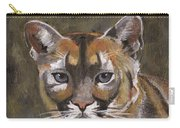 Mountain Cat Carry-all Pouch by Jamie Frier