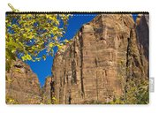 Mountain Cliffs At Zion Carry-all Pouch