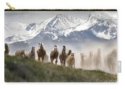 Mountain Dust Storm Carry-all Pouch