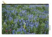 Mountain Flower Meadow Carry-all Pouch