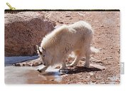 Mountain Goat Breaking Ice On Mount Evans Carry-all Pouch