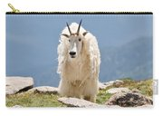 Mountain Goat Portrait Carry-all Pouch