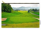 Mountain Golf Carry-all Pouch by Frozen in Time Fine Art Photography