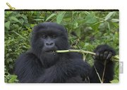 Mountain Gorilla Eating Wild Celery Carry-all Pouch