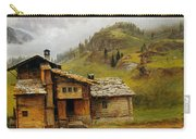 Mountain House  Carry-all Pouch by Albert Bierstadt