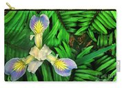 Mountain Iris And Ferns Carry-all Pouch