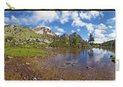 Mountain Lake In The Dolomites Carry-all Pouch