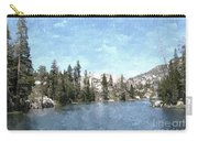 Mountain Lake Retreat Carry-all Pouch