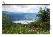 Mountain Lake Viewpoint Carry-all Pouch by Carol Groenen