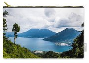 Mountain Lakes In Guatemala Carry-all Pouch