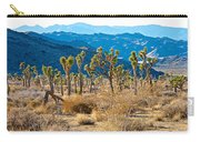 Mountain Layer Landscape From Quail Springs In Joshua Tree Np-ca- Carry-all Pouch