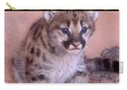 Mountain Lion Cub Carry-all Pouch