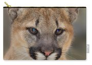 Mountain Lion Felis Concolor Captive Wildlife Rescue Carry-all Pouch