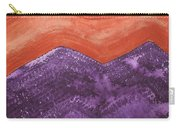 Mountain Majesty Original Painting Carry-all Pouch