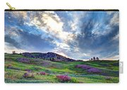 Mountain Meadow Of Flowers Carry-all Pouch