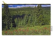 Mountain Meadow Scene Carry-all Pouch