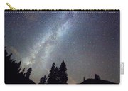 Mountain Milky Way Stary Night View Carry-all Pouch