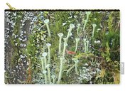 Mountain Moss Lichens And Fungi Carry-all Pouch