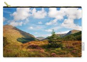 Mountain Pastoral. Rest And Be Thankful. Scotland Carry-all Pouch