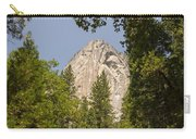 Mountain Peak In Yosemite National Park Carry-all Pouch