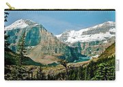 Mountain Peaks From Plain Of Six Glaciers Trail In Banff Np-albe Carry-all Pouch