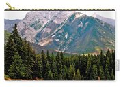 Mountain Peaks Over Johnson Lake In Banff Np-alberta Carry-all Pouch