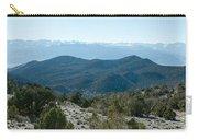 Mountain Range, White Mountains Carry-all Pouch