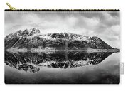 Mountain Reflection Carry-all Pouch by Dave Bowman