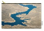 Mountain River From The Air Carry-all Pouch