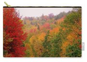 Mountain Road In Fall Carry-all Pouch
