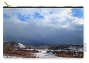 Mountain Snow Coming  Carry-all Pouch