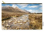 Mountain Stream From Beinn Eighe Carry-all Pouch