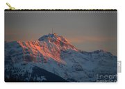 Mountain Sunset In Switzerland Carry-all Pouch