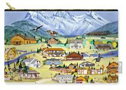 Mountain Town Of Canmore Carry-all Pouch